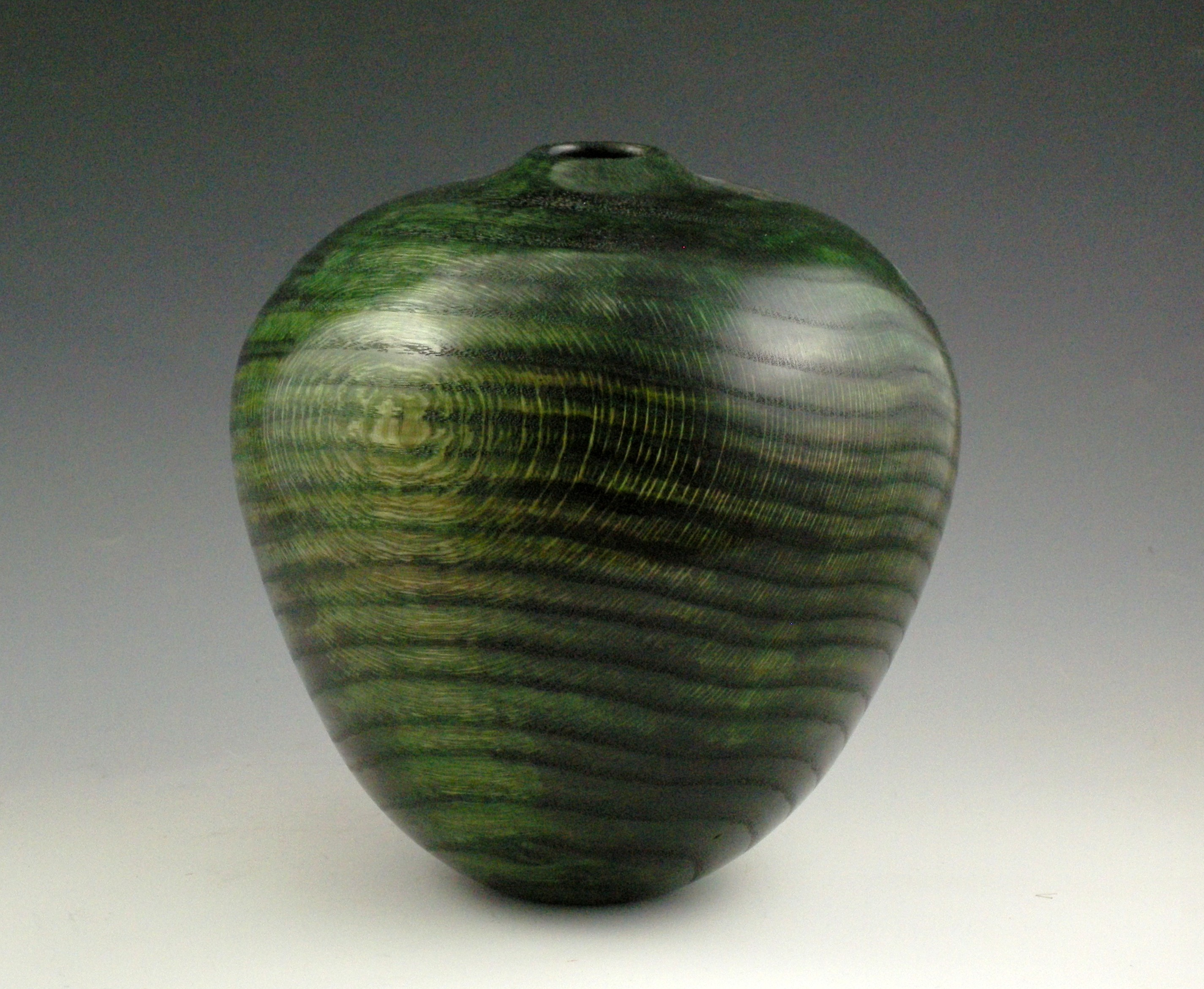 Oval Green Vessel
