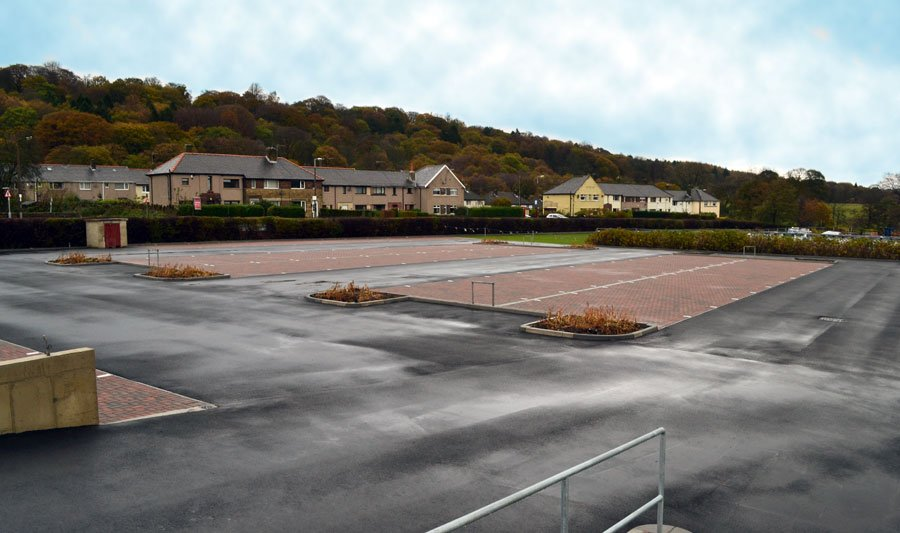 Woodbank Nurseries Increase Car Park Space