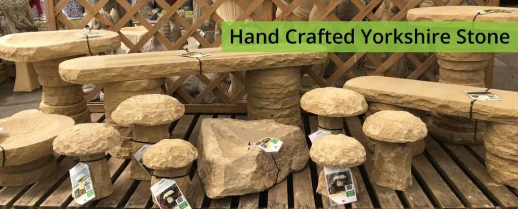 Yorkshire Stone Benches, Birdbaths & More!
