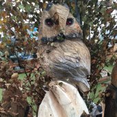 owl wood carving woodban nurseries