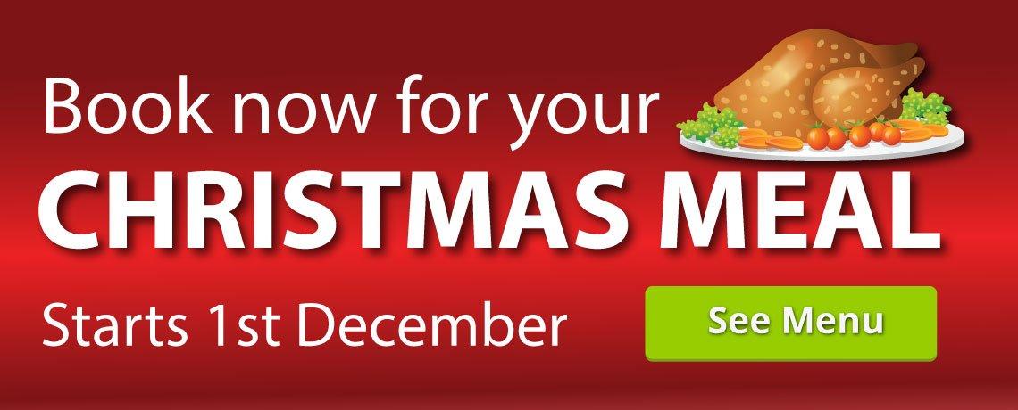 Christmas Menu Starts 1st December