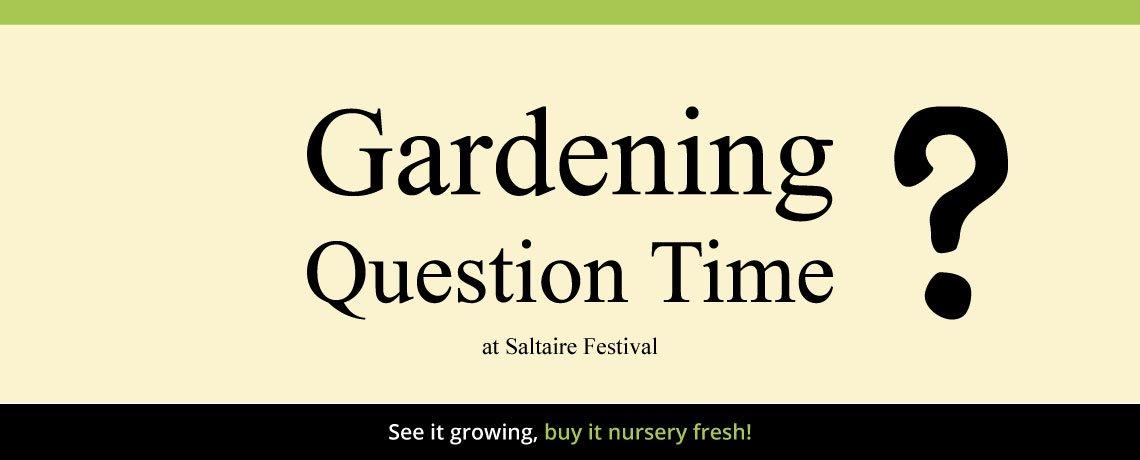 Garden Question Time
