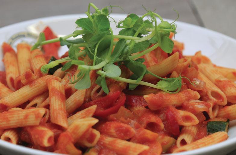 Tomato-penne-Pasta