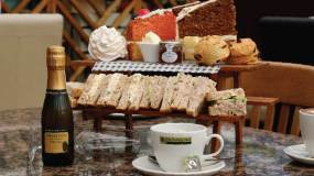 Afternoon Tea in The Potting Shed Restaurant