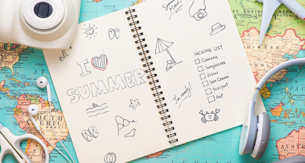 Summer time and the writing is easy