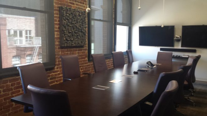 meeting room acoustic, conference room acoustic, corporate art, wood wall art