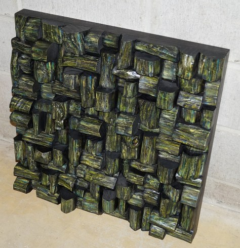 wood art, acoustic panel, sound diffuser, wood art acoustic, contemporary wood art