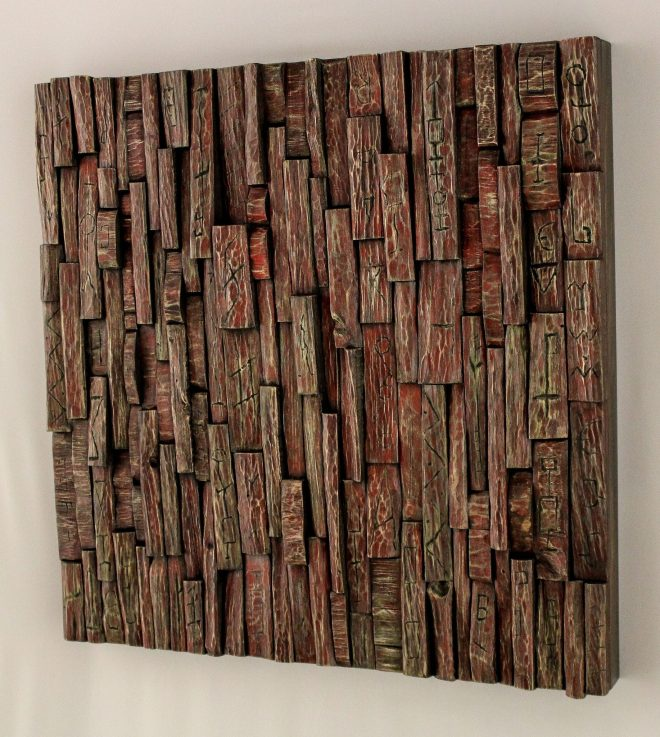 wood art, wood wall art, wooden panel, wall art ideas, contemporary wood art, recycled wood art