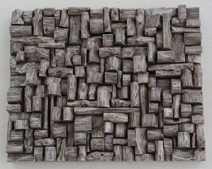 contemporary wall sculpture, wood art, wood blocks design, wood assemblage, wood wall art ideas, olga oreshyna art, eccentricity of wood, zen art, natural art, custom wood sculpture
