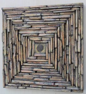 contemporary art, eccentricity of wood, wood blocks design, wood wall art, zen art, natural art, cottage decor