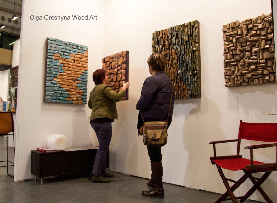 Original artwork by Canadian artist Olga Oreshyna will be on display at Artist Project Toronto Contemporary Art Fair
