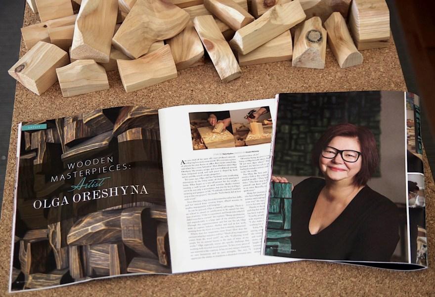Olga Oreshyna Wooden Masterpieces