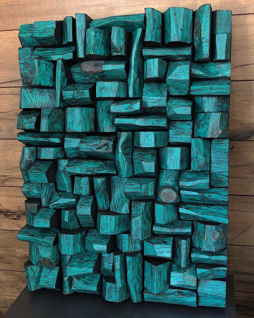 modern wall sculpture