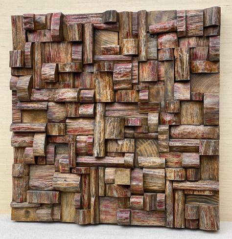 organic modern design, wood wall art