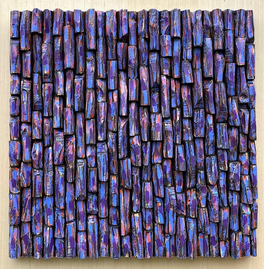 modern wood wall sculpture, abstract art