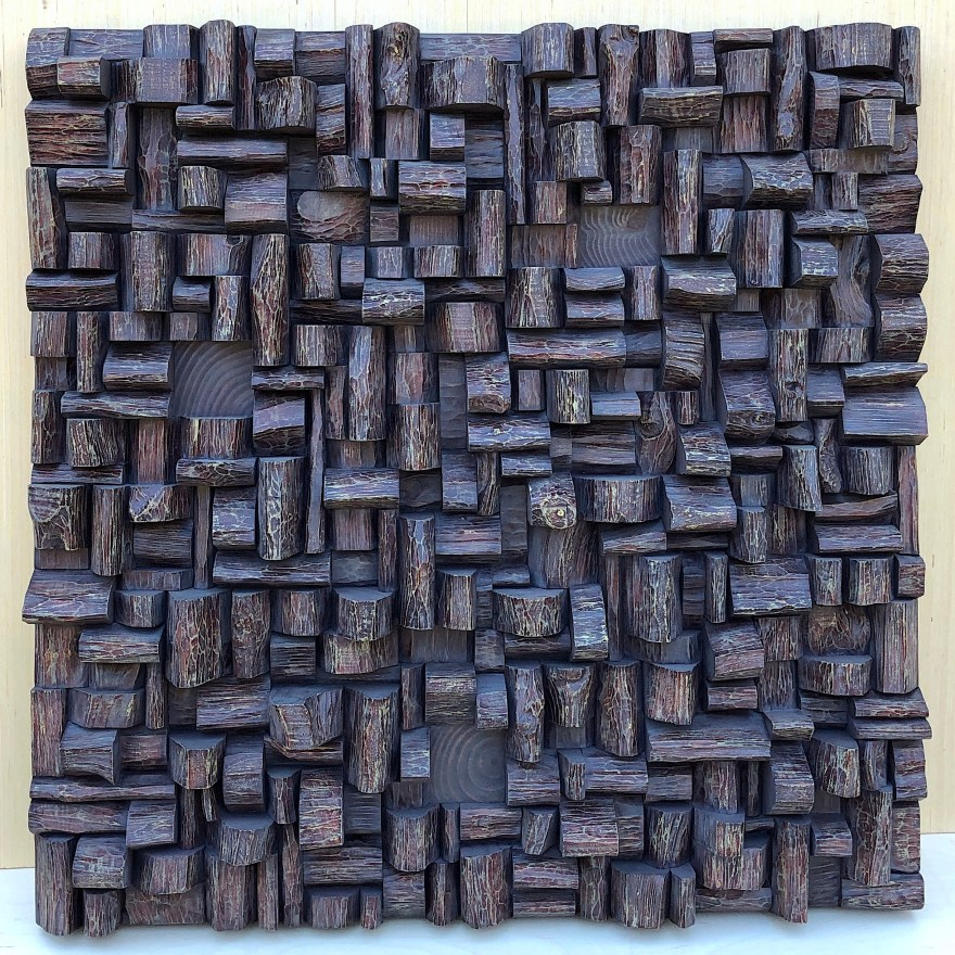modern wood wall sculpture, 3d wall art