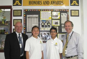 Amity Middle School – Bethany Connecticut Association of Schools 2017 Middle Level Scholar-Leader Award