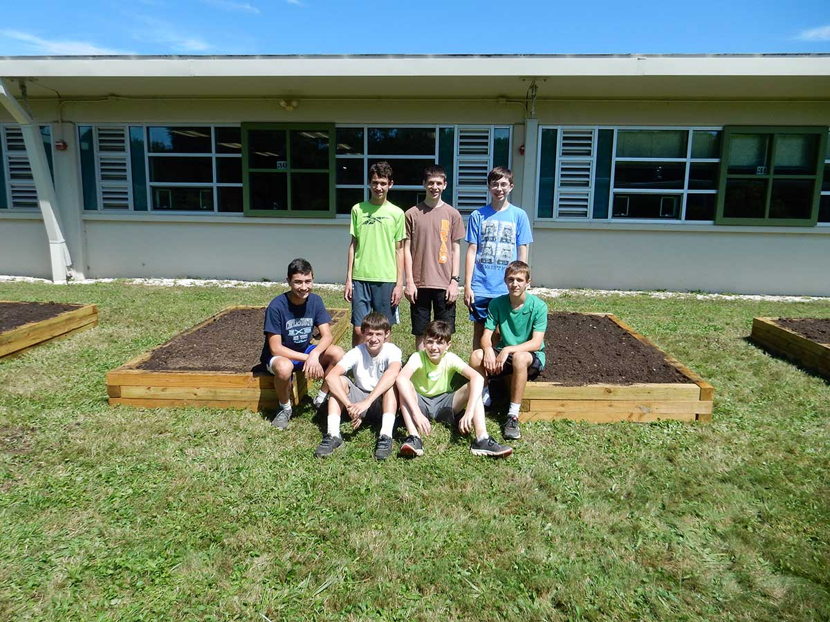 Former Students Eagle Scout Project at Amity Middle School