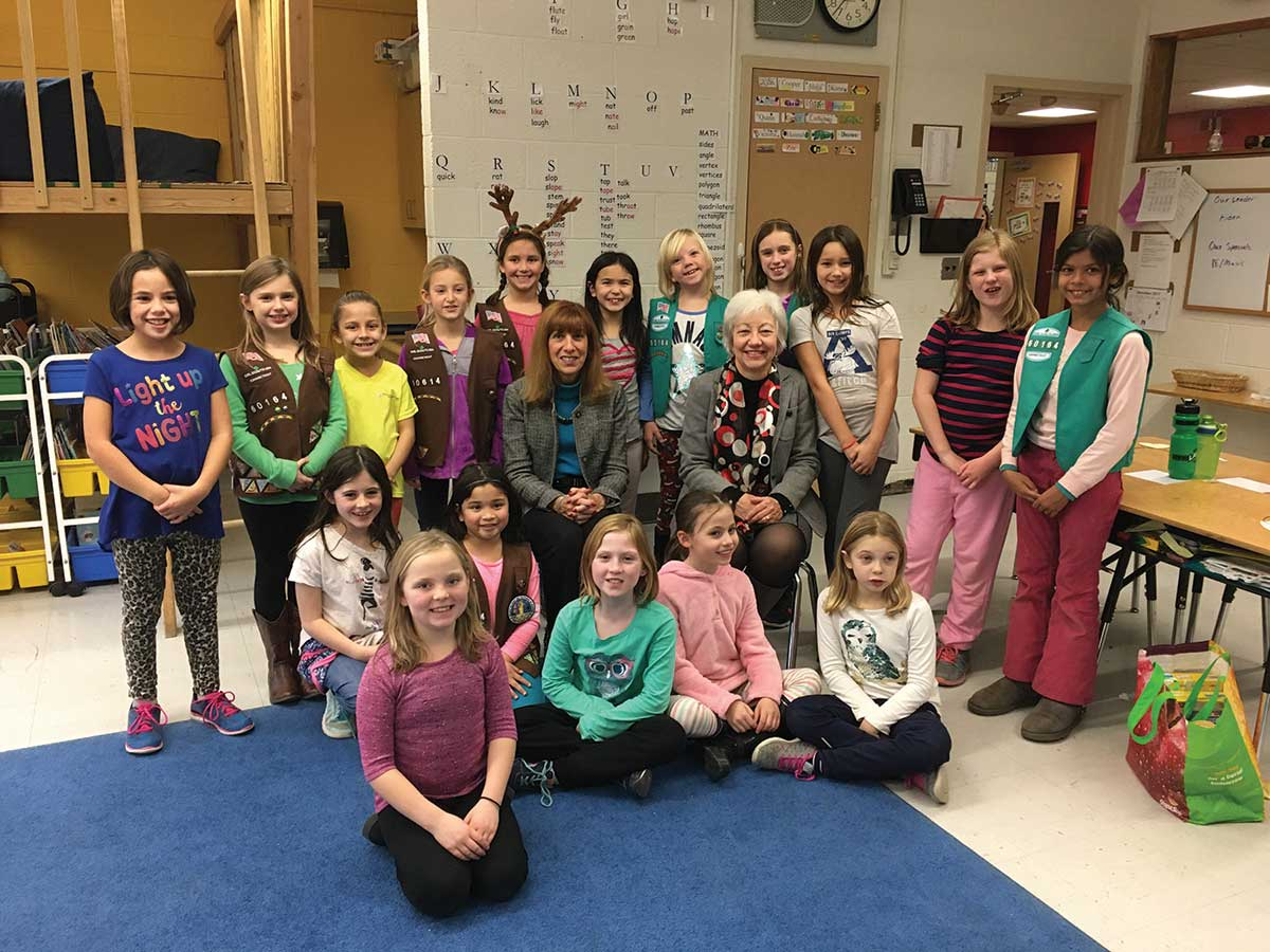 Girl Scouts Holiday Food Baskets
