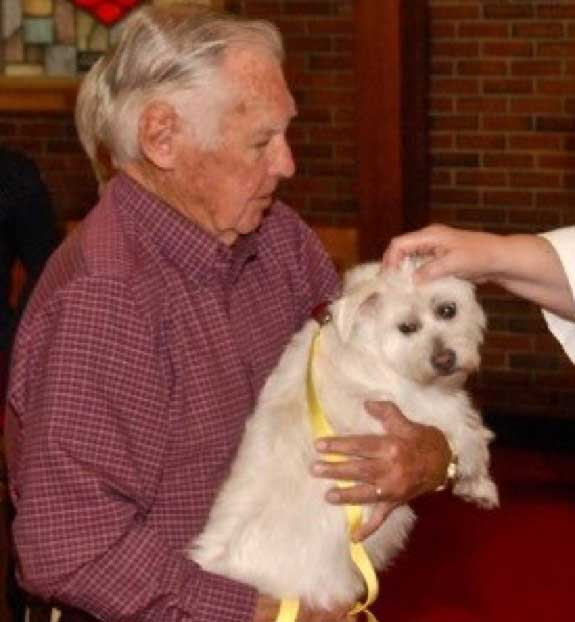 The Epsicopal Church Of The Good Shepherd Announces The Annual Blessing Of The Animals.