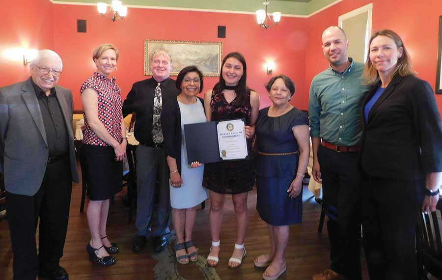 Woodbridge Rotary Student of the Month