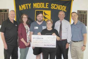 Amity Middle School Drama Departments Earn Microphone Grant