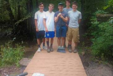 Bethany Boy Scout Competes Eagle Scout Project with Bethany Land Trust