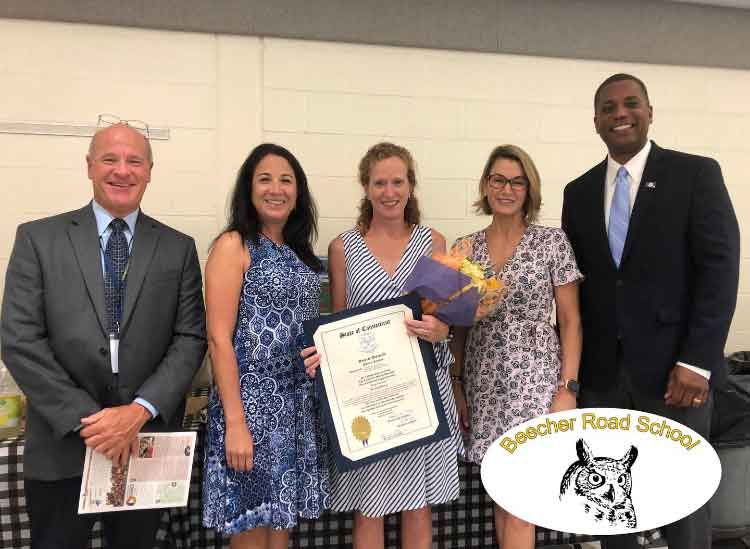 Mary Vincitorio Selected as Woodbridge Teacher of the Year