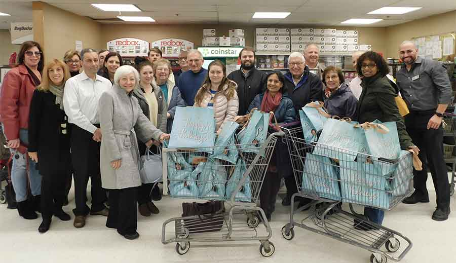 Woodbridge Rotary Club & Employees/Partners of Bailey, Moore, Glazer, Schaefer & Proto Provide Thanksgiving Assistance
