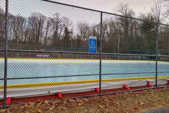 New Ice Skating Rink Open