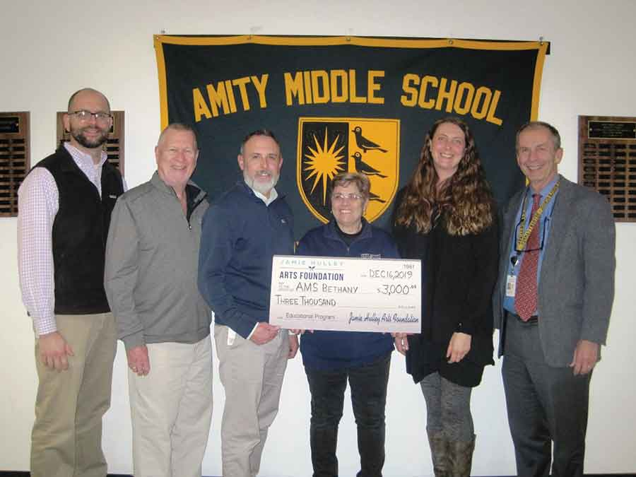 Amity Middle School – Bethany Campus Receives $3,000 in Hulley Arts Foundation Grants