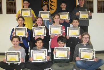 Amity Middle School Character of the 2nd Quarter Award