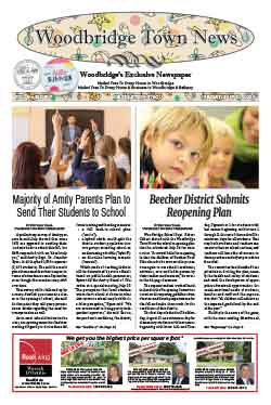 woodbridge town news front page july 31, 2020