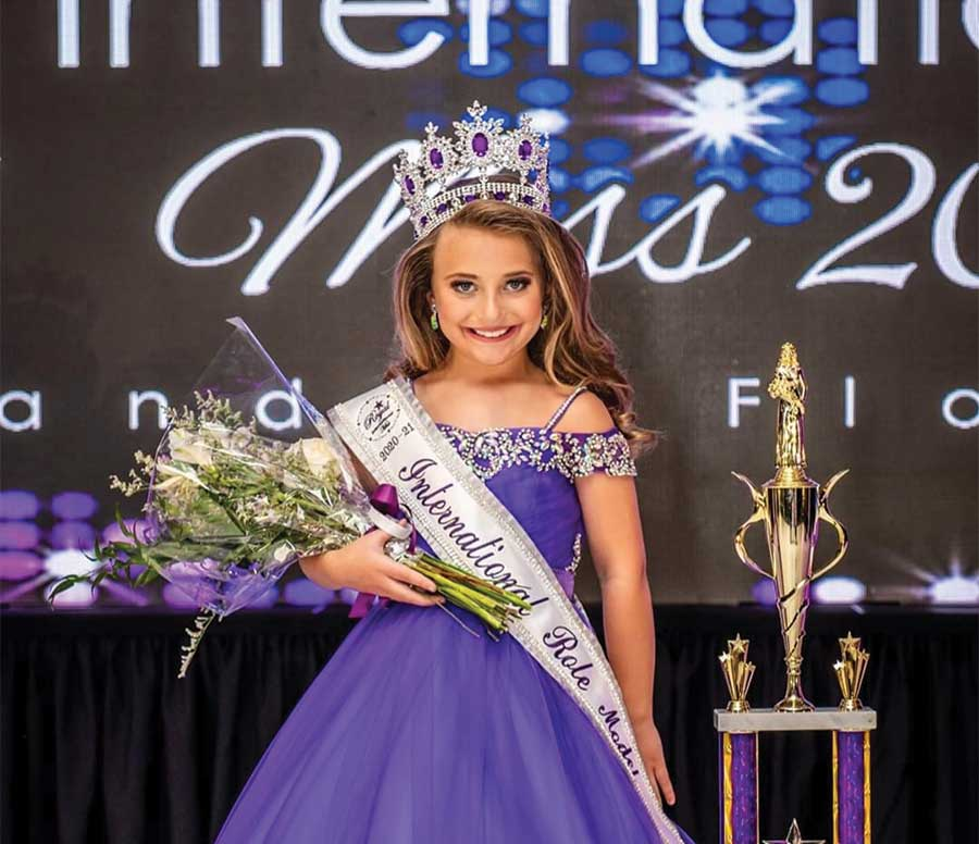Local Resident Wins International Pageant Title