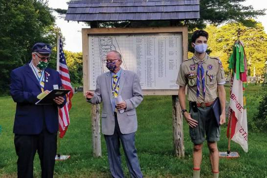 Troop 907 Eagle Scout Jason Luciani Receives SAR Essay Award