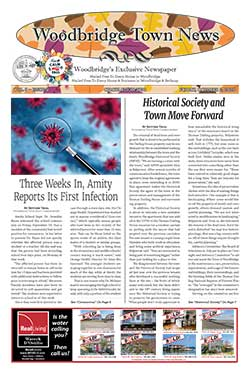 woodbridge town news cover from october 2, 2020