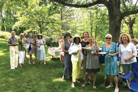 Garden Club Holds In-Person Luncheon