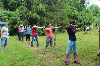 Girls Camp 2016 Archery