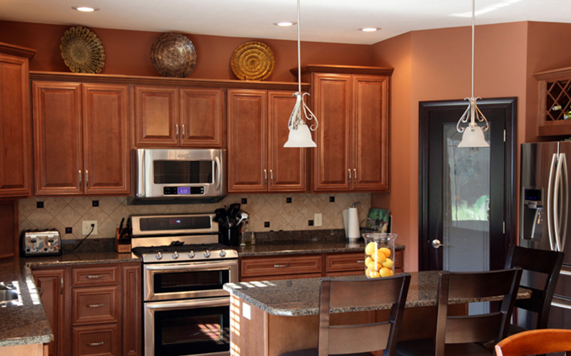 Chestnut Maple - Wood Cabinet Factory - Chestnut Kitchen ... on Maple Cabinets  id=63401