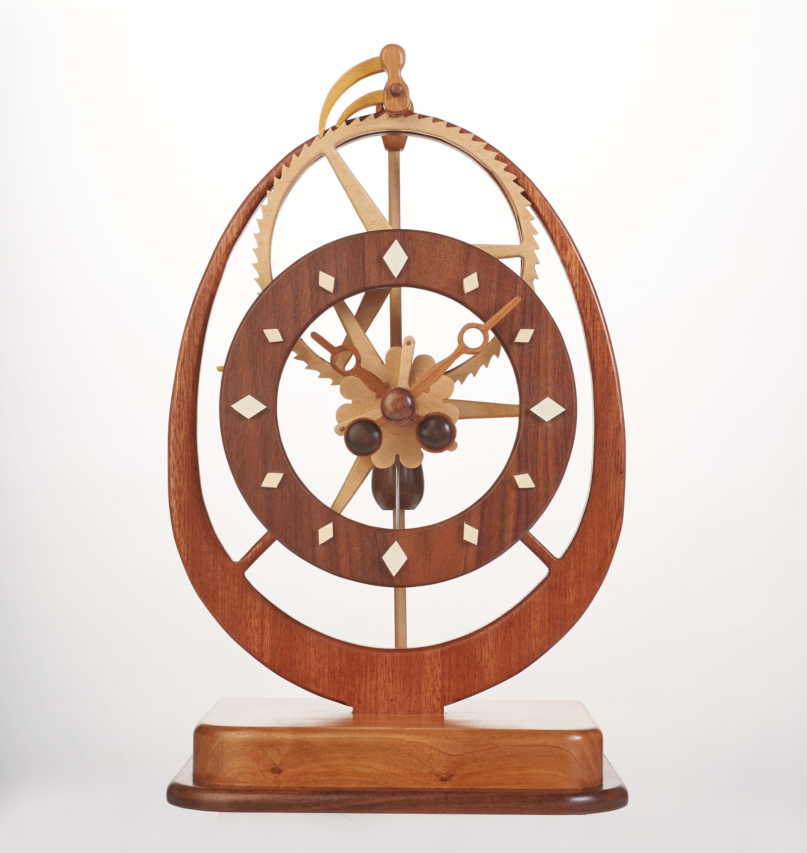 Scroll Saw Clock Patterns