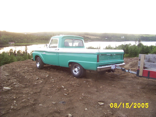 1965 Ford pickup truck