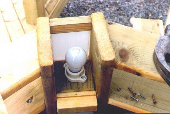 Wiring a custom lighting deck