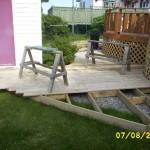 DIY deck construction