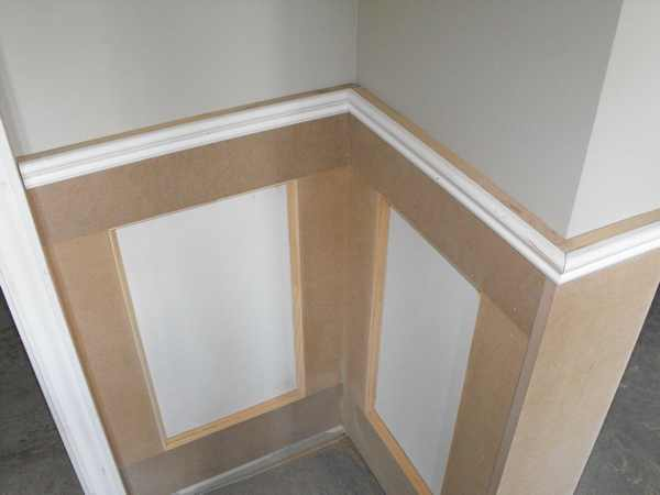 DIY wainscoting articles.