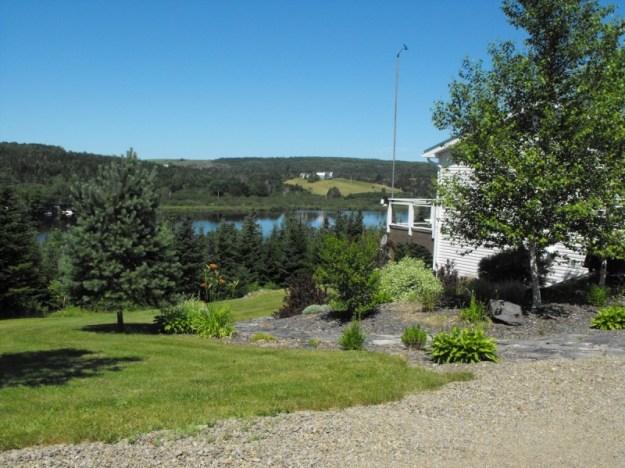 Nice day in Loch Katrine, Nova Scotia.