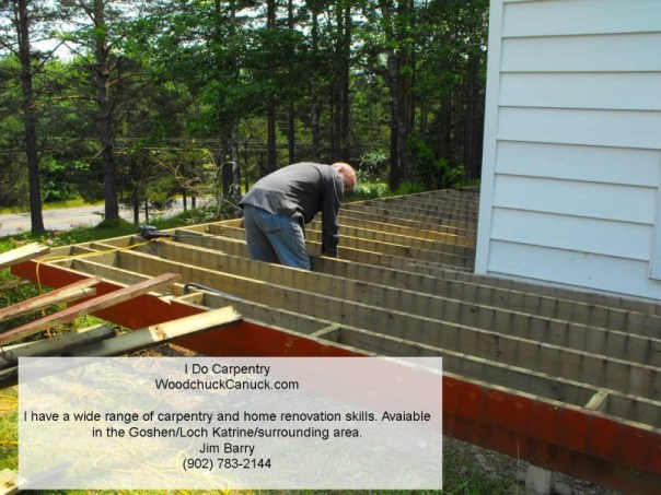 carpentry,home renovations,property maintenance