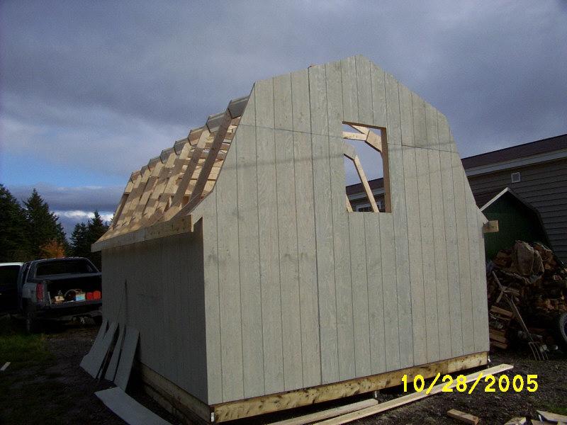Baby barn building.