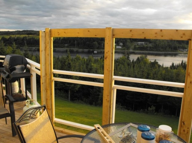 Sunroom deck construction 5