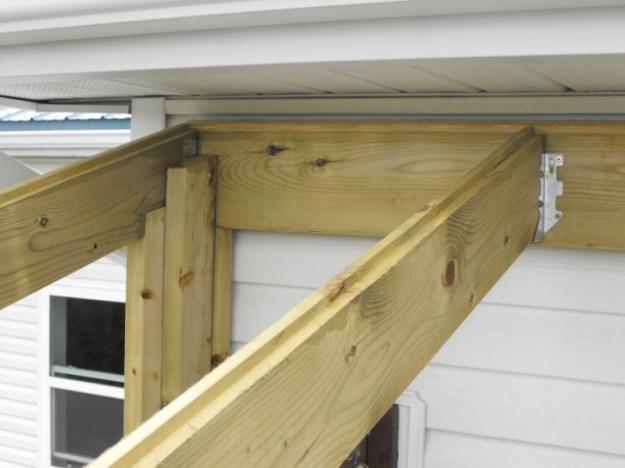 Sunroom deck construction 19