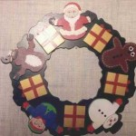 Christmas wreath scrollsaw project